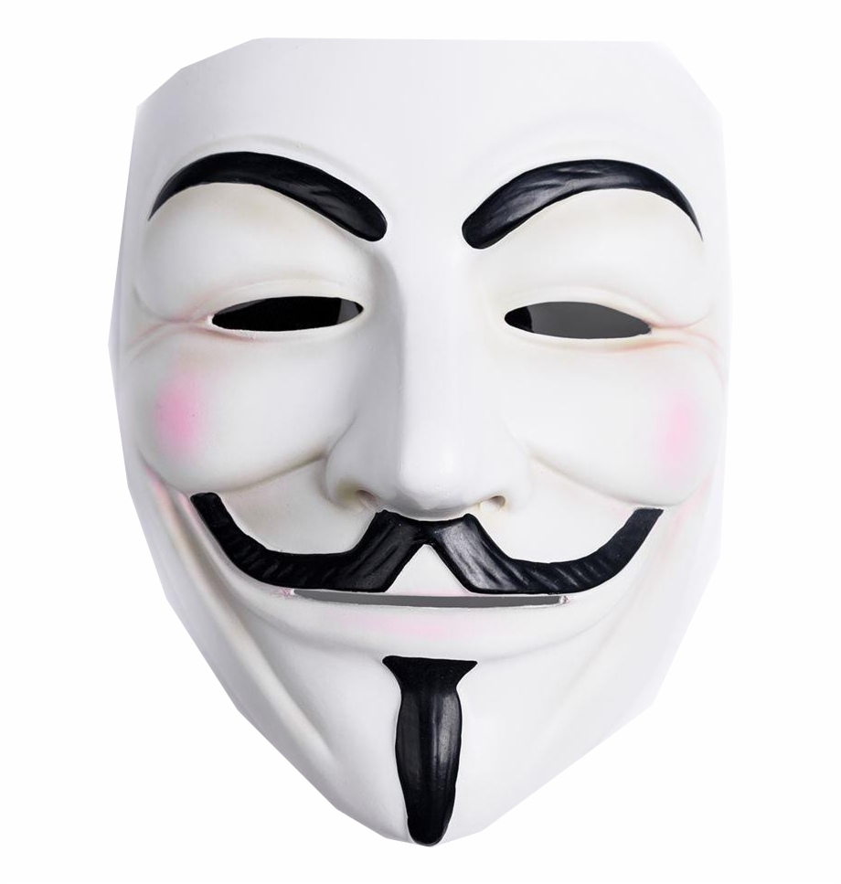 V For Vendetta Maskesi Transparent Png Download 3236888 Vippng