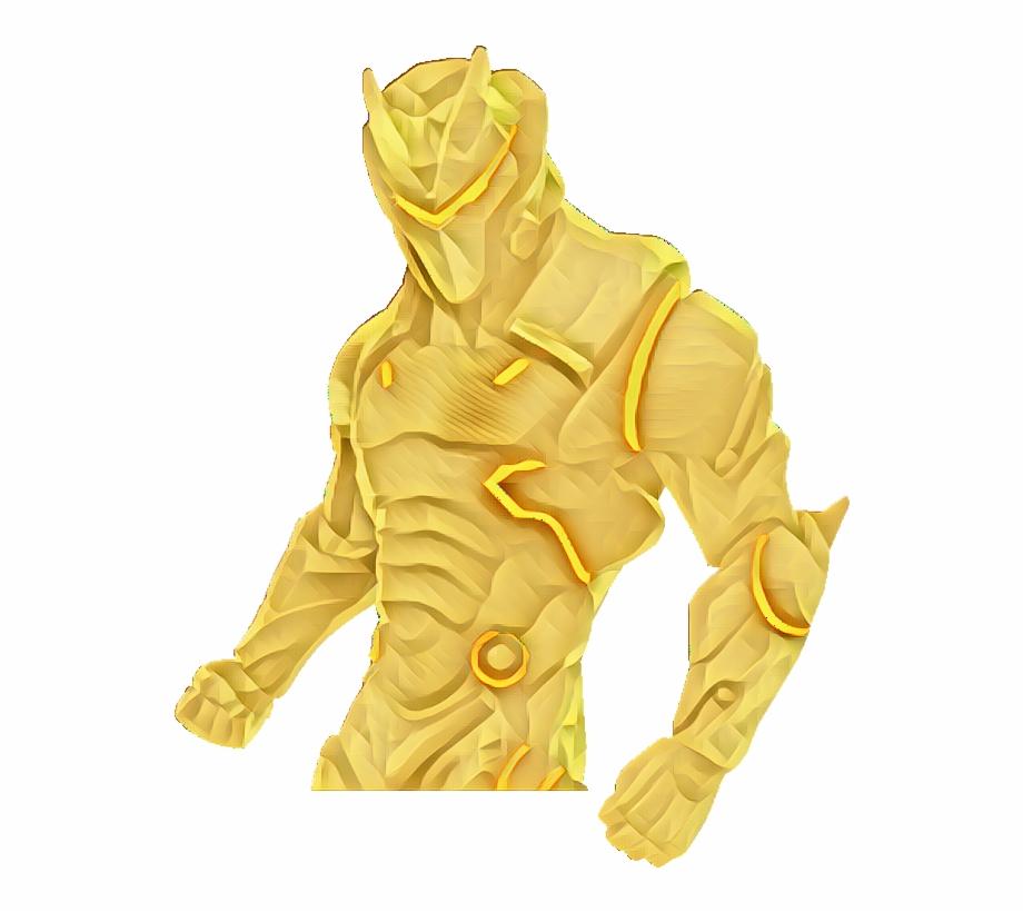 Fortnite Omega Golden Epicgames Golden Fortnite Transparent Png Download 3243095 Vippng