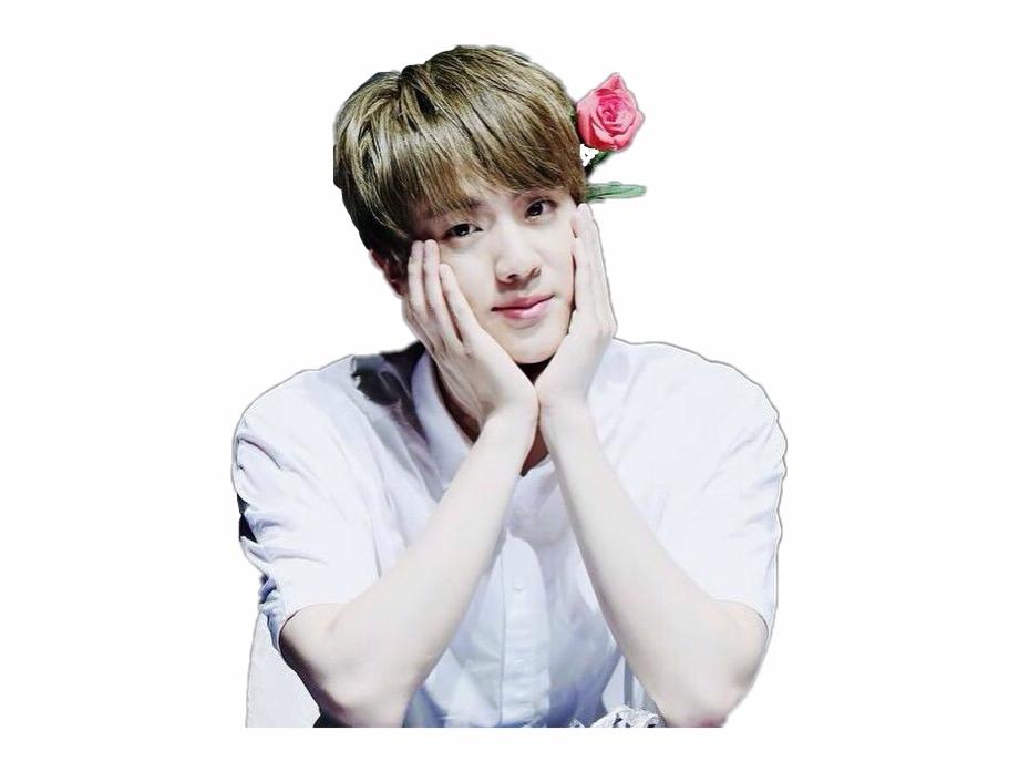 328 3283073 bts cute jin seokjin flower loveu love rose