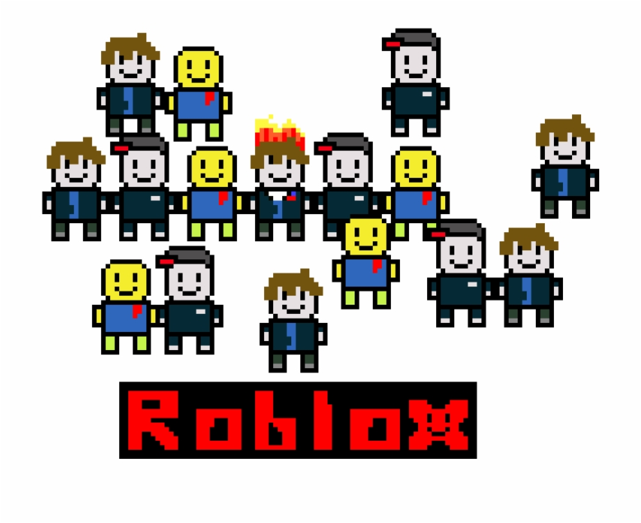 Noob Ai Roblox 8bit Roblox Guest Noob And Bacon Hair Roblox Bacon Hair Noob Transparent Png Download 3288746 Vippng