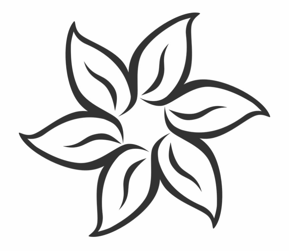 Flower Symmetric Leaves Blossom Mandala Petals , Easy