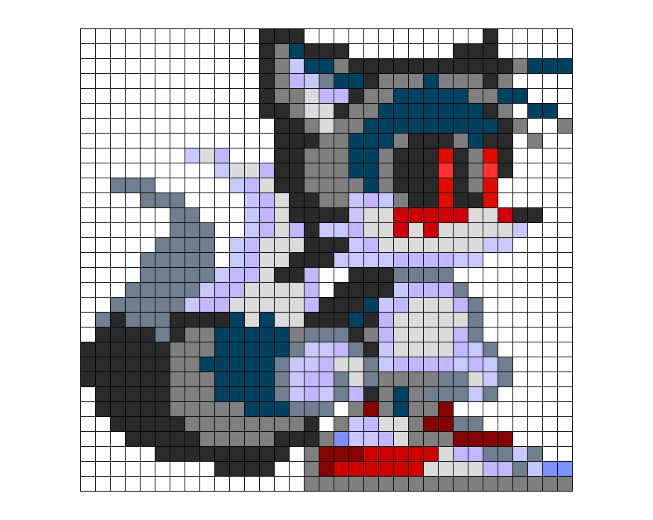 Tails Exe Perler Bead Pattern Bead Sprite Sonic Exe