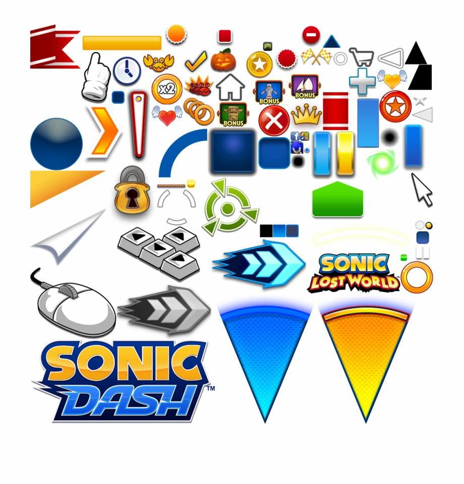 Sonic Dash Textures Transparent Png Download 3347914 Vippng