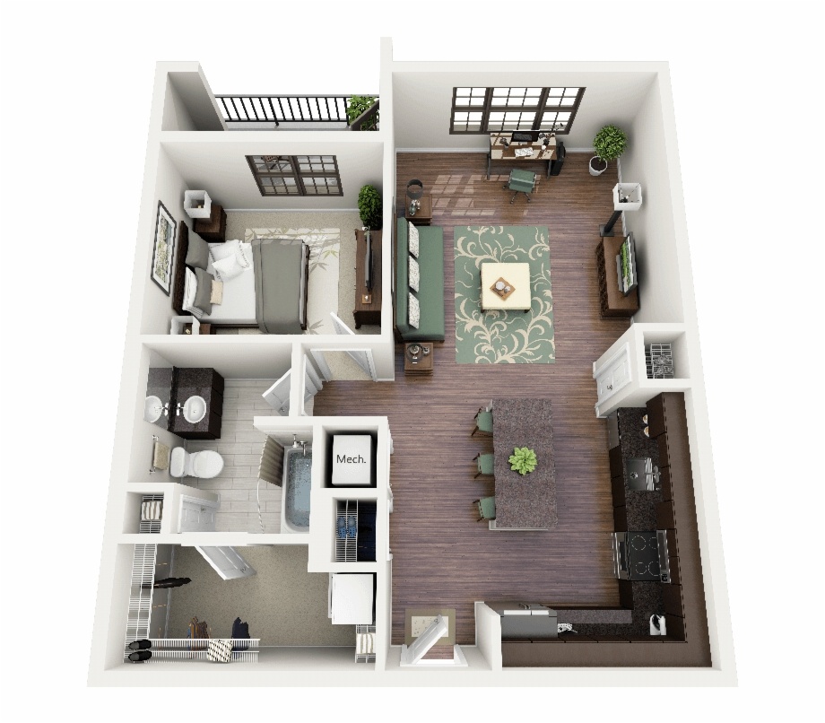 Png Interior Design Open Floor Plan Office Google 2 Bedroom Apartment Design Plans Transparent Png Download 3353828 Vippng
