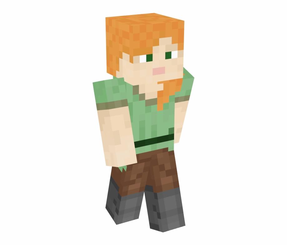 Alex Minecraft Girl Skins Transparent Png Download 3354949