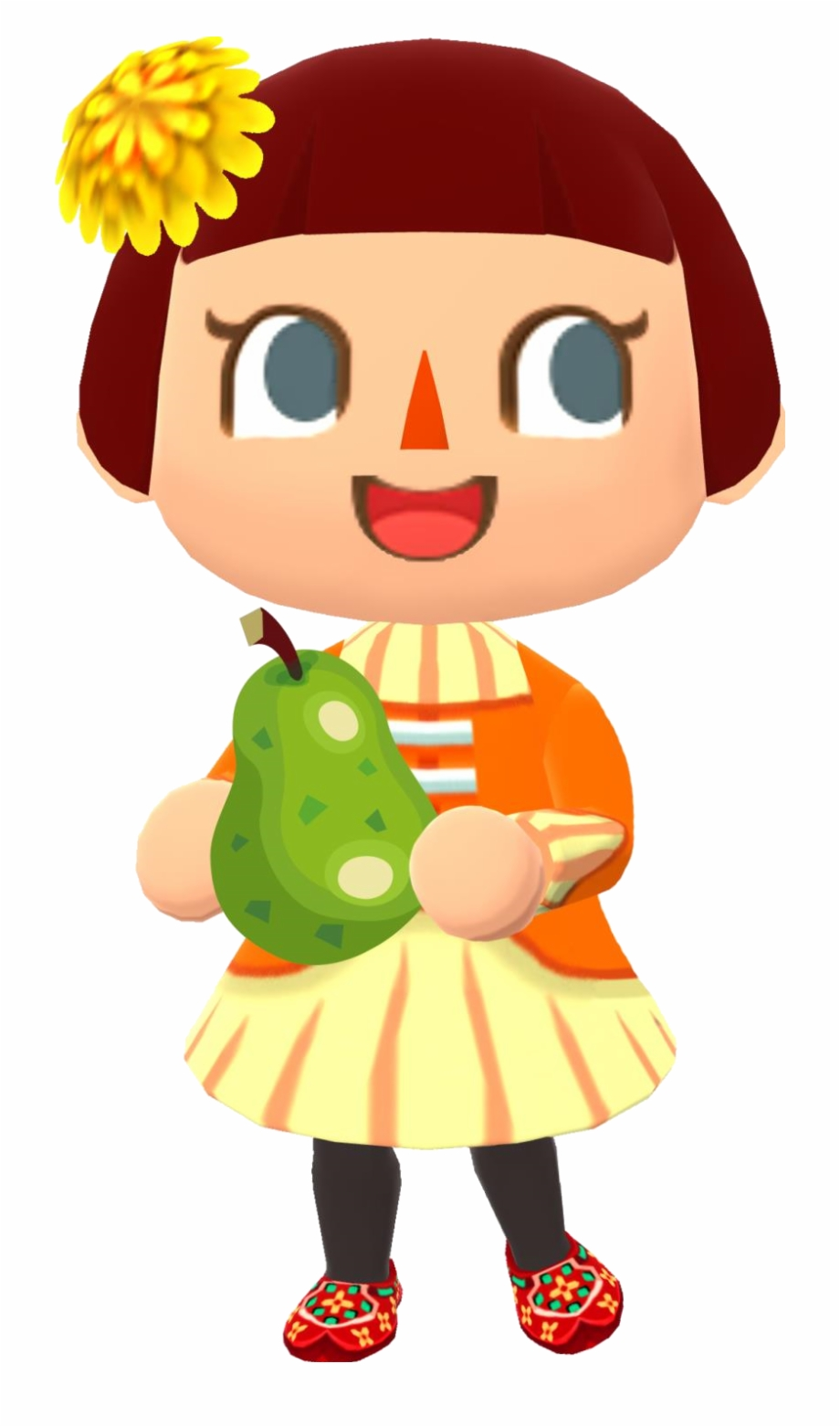 Bell Bag New Leaf Png Girl Animal Crossing Character New Leaf