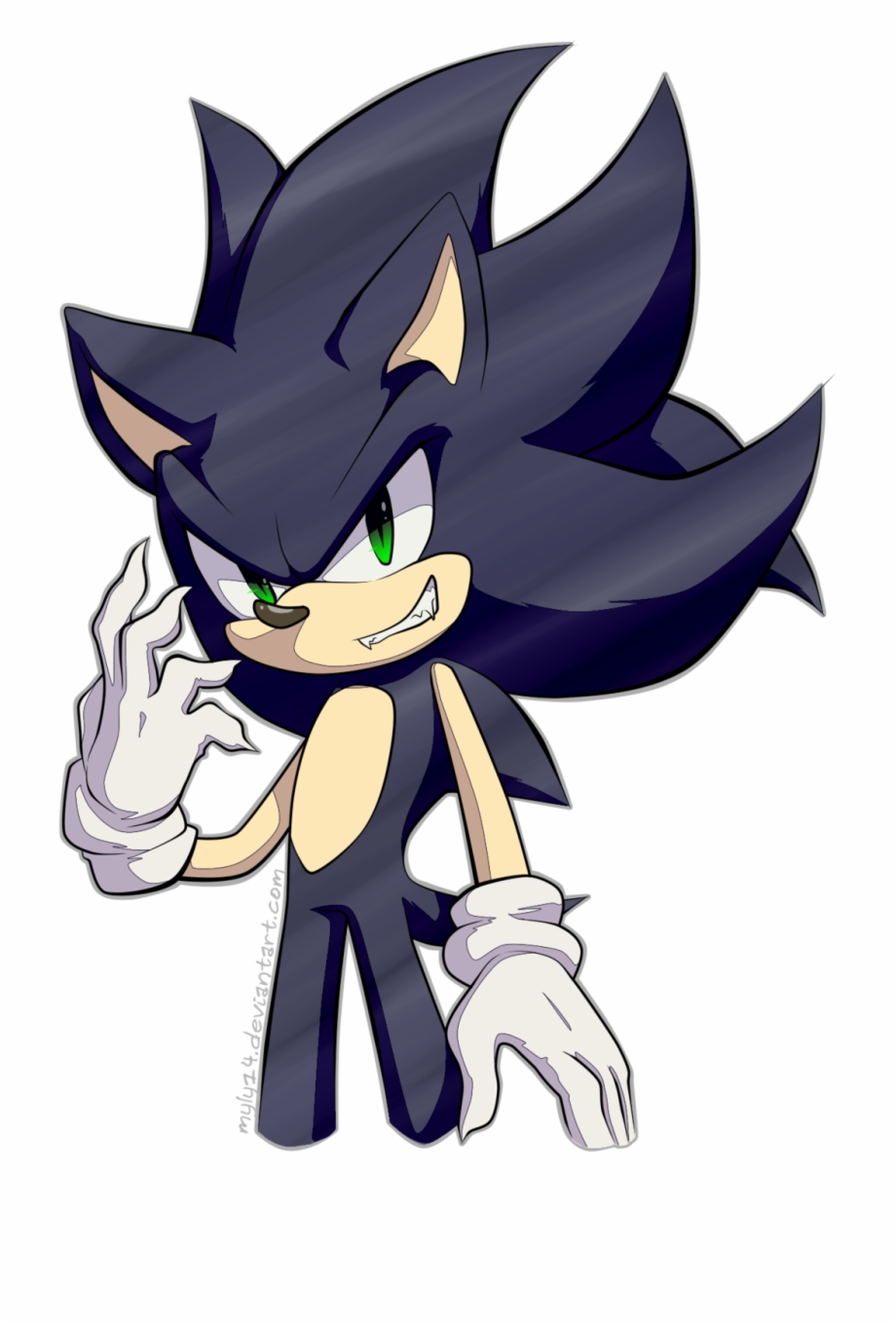 Dark Sonic Dark Sonic Transparent Png Download 3359493 Vippng
