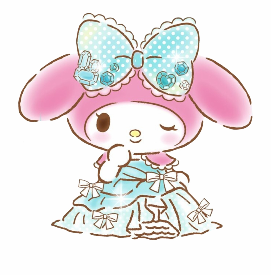 #princess #mymelody #melody #lady #cute #sanrio #crystal ...