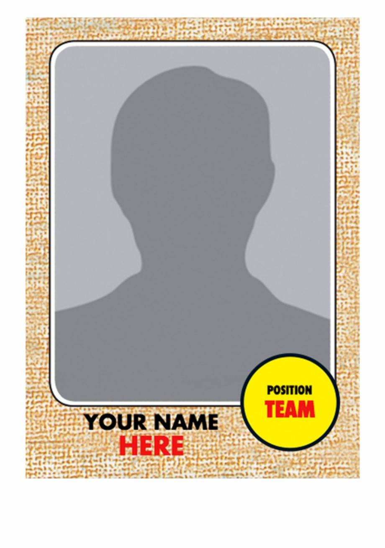 Baseball Trading Card Template 21 - Baseball Card Template Png Inside Free Trading Card Template Download