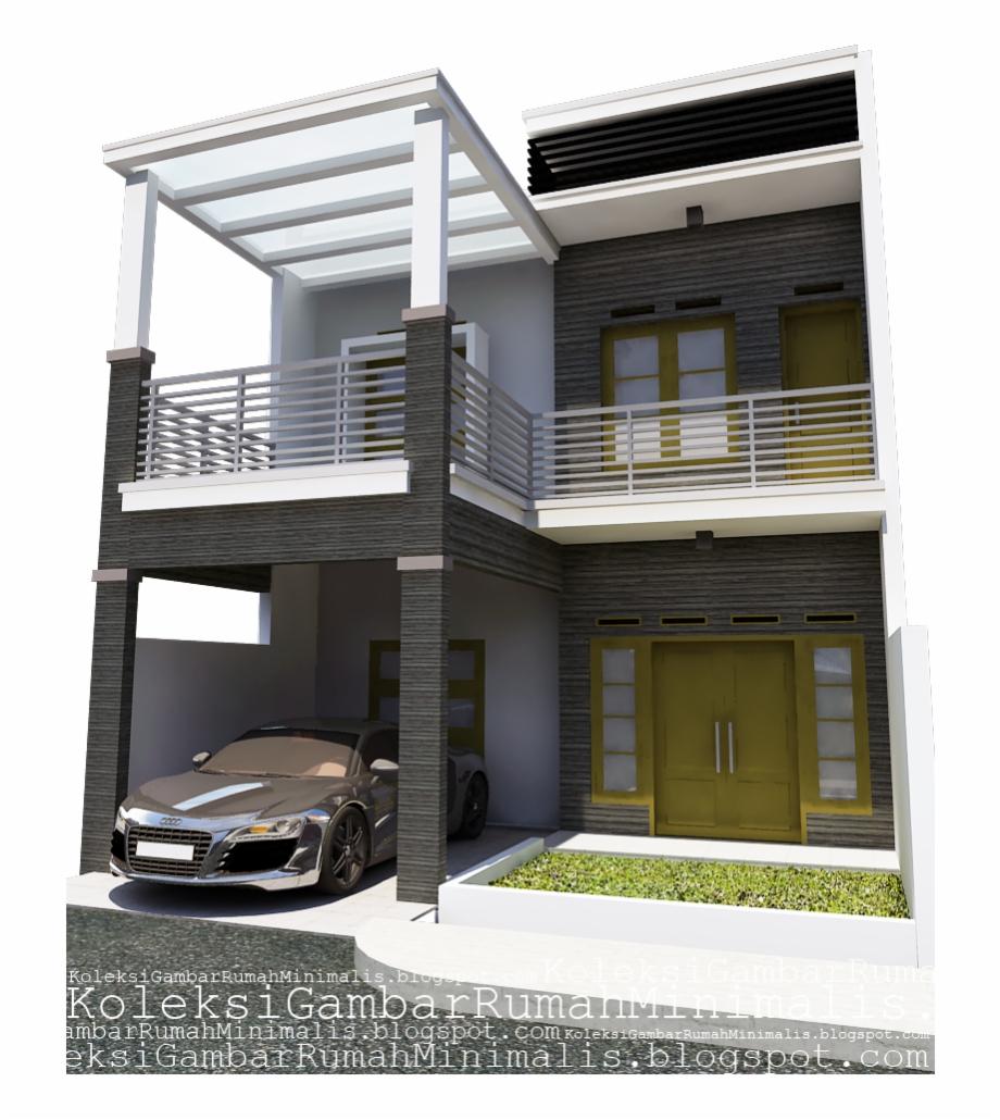 Contoh Gambar Rumah Minimalis 2 Lantai Desain Rumah ...