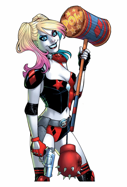 Harley Quinn Transparent Harley Quinn Joins Birds Of Prey Transparent Png Download 344674 Vippng