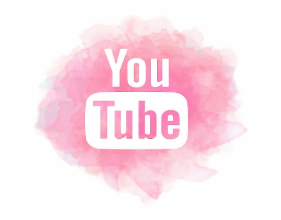 #youtube #pink - Youtube Logo Black   Transparent PNG ...