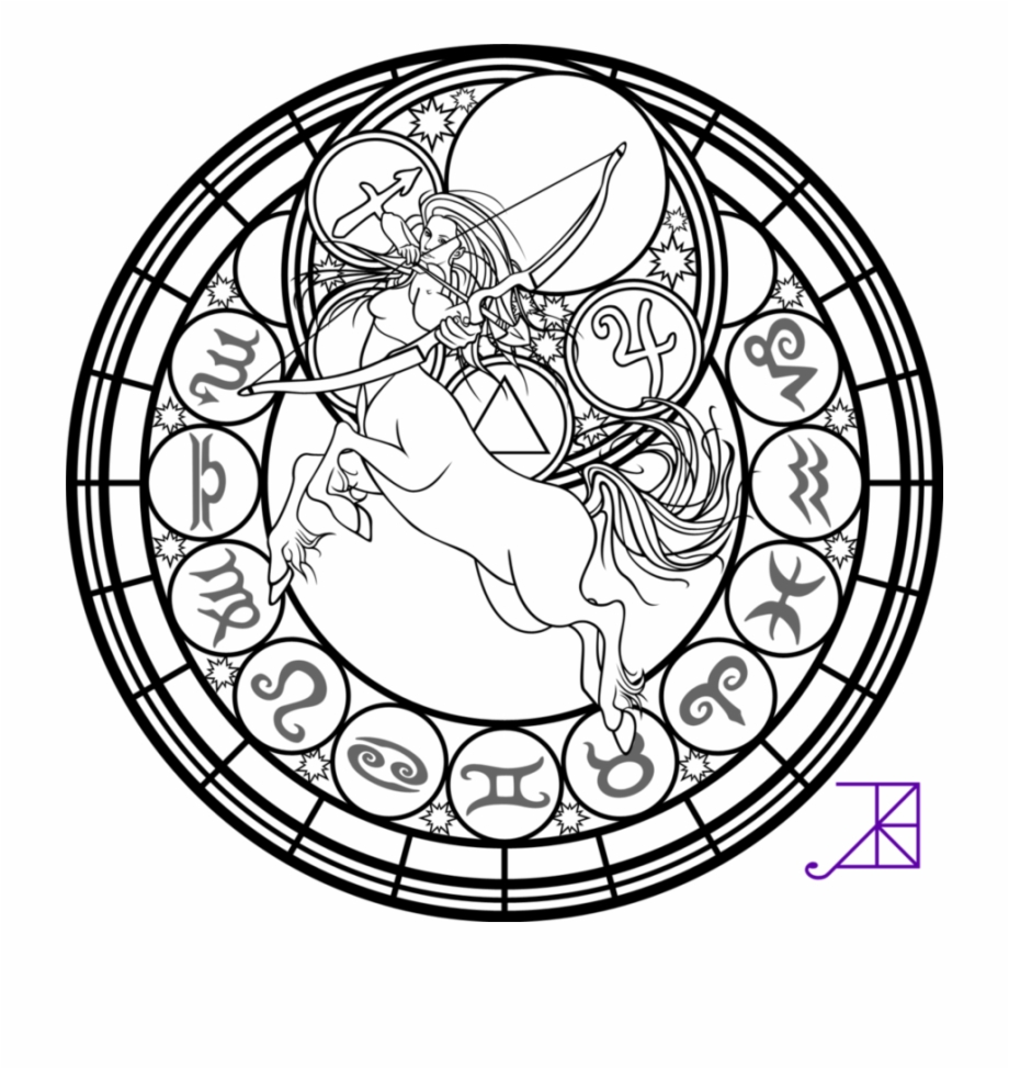 Heart And Lungs Printable Coloring Page With Kingdom Sagittarius