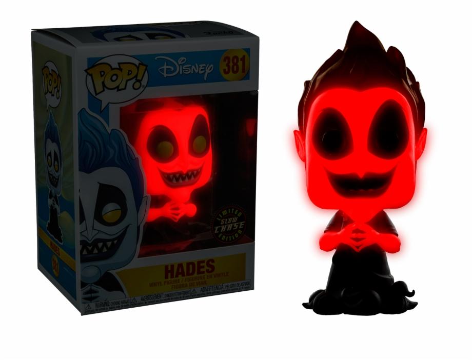 Disney Funko POP Vinyl Hades Glow In The Dark
