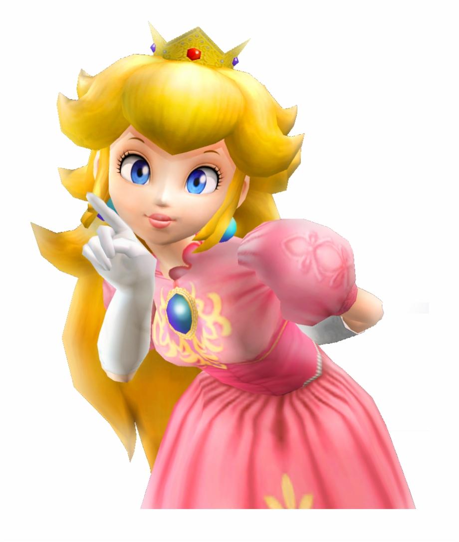 Princess Peach Melee Transparent Png Download 3439604