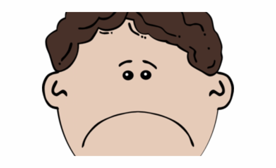Children Cartoon Sad Face | Transparent PNG Download ...