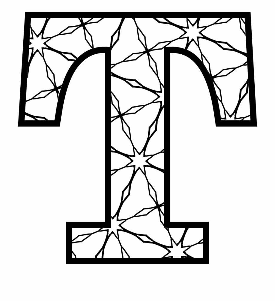 Free Printable Alphabet Letters Coloring Pages | 1011x920