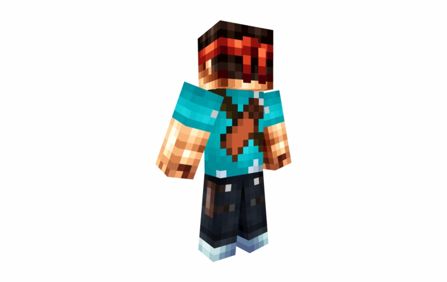 Thuxadpng Minecraft Adventure Steve Skin Transparent Png