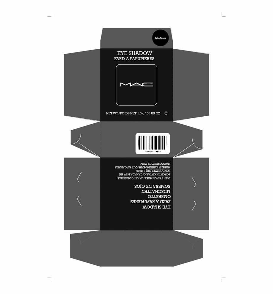 Conversation Mac Cosmetics Packaging