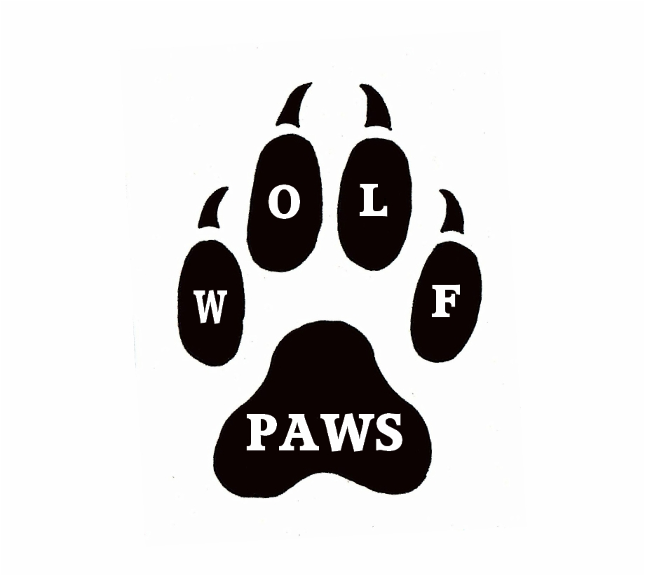 Wolf Stencil Eps Free Vector Download: Wolf Paws Vet Care Day Paw Print Pumpkin Carving Stencil