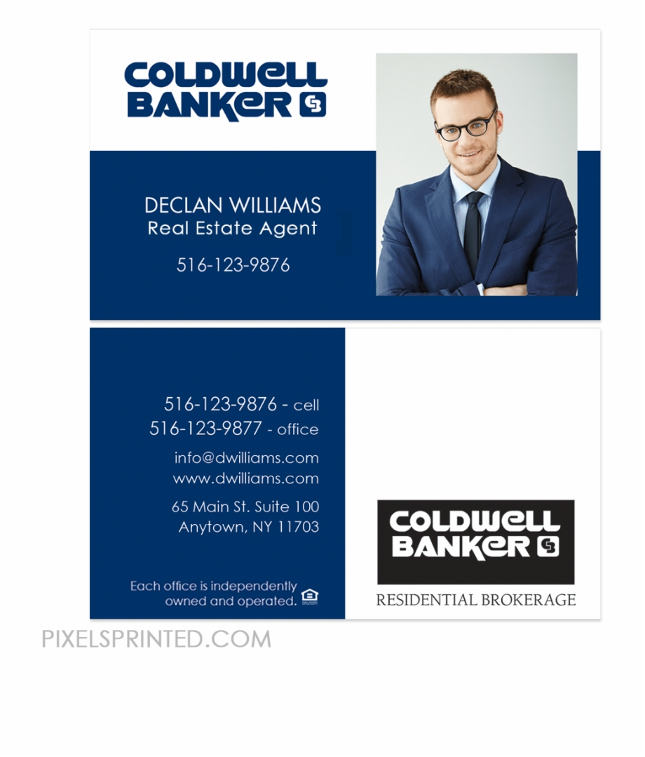 Coldwell Banker Business Cards, Coldwell Banker Realtor - Coldwell Regarding Coldwell Banker Business Card Template