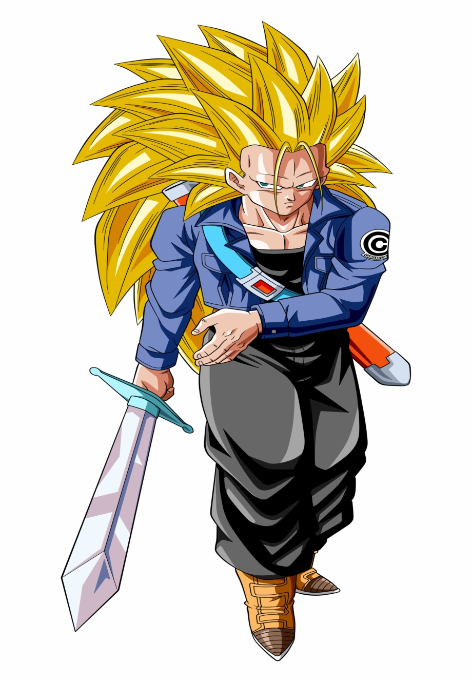 Future Trunks Anime Dragon Ball Z Mobile Wallpaper Future