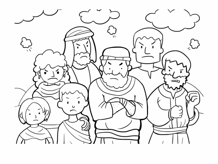 Moses Bible Coloring Pages - Get Coloring Pages   690x920