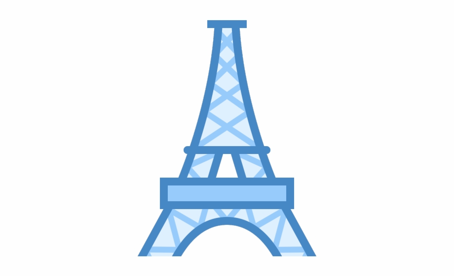 Eiffel Tower Clipart Eiffel Tower Icon Transparent Png Transparent Png Download 3604076 Vippng