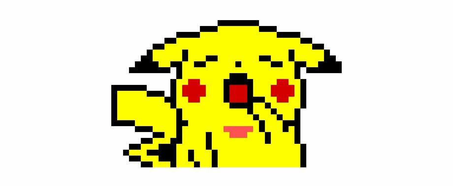 Sleepy Pikachu Animes Em Pixel Art Transparent Png