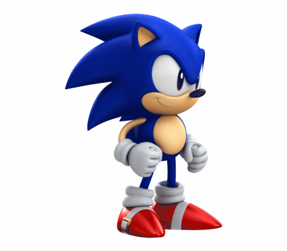 Sonic Classic Sonic Gif Transparent Png Download 3656254 Vippng