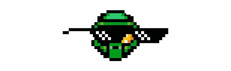 Thug Life Master Chief Helmet Pixel Art Transparent Png