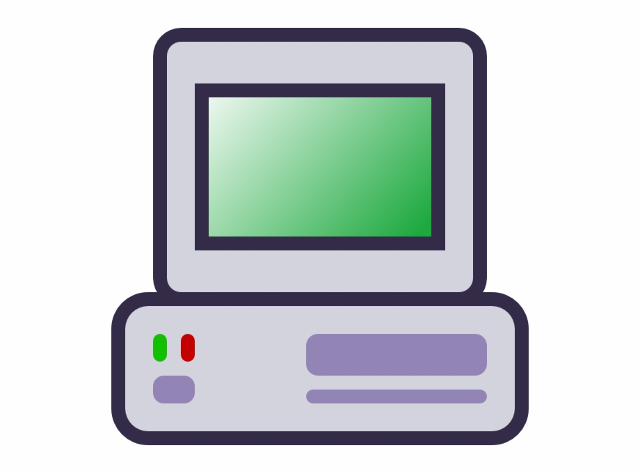 Computers Cartoon Transparent Background Transparent Png Download 3688783 Vippng