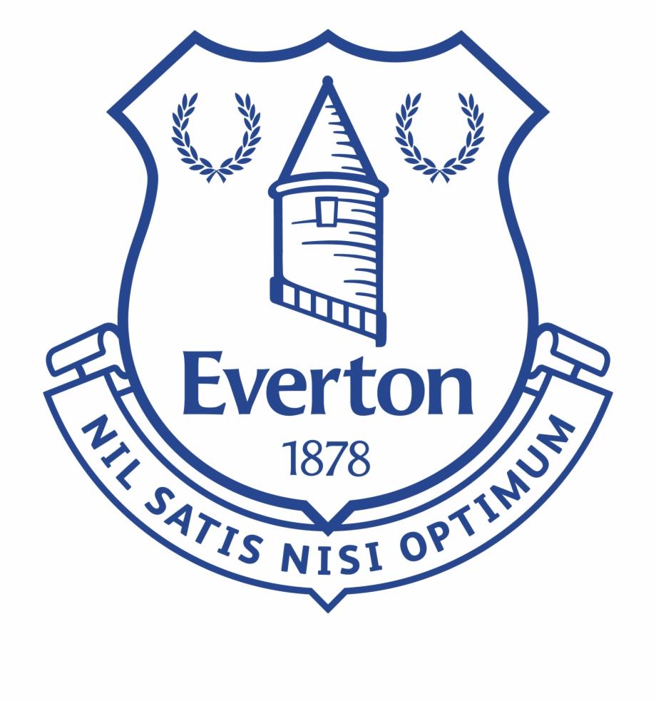 Everton Emblem Everton White Logo Png Transparent Png Download 3777364 Vippng