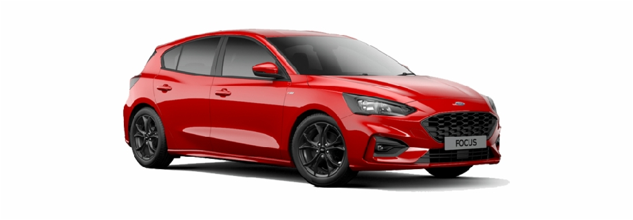 All New Ford Focus St Ford Focus St Line 2019 Ruby Red Transparent Png Download 3790422 Vippng