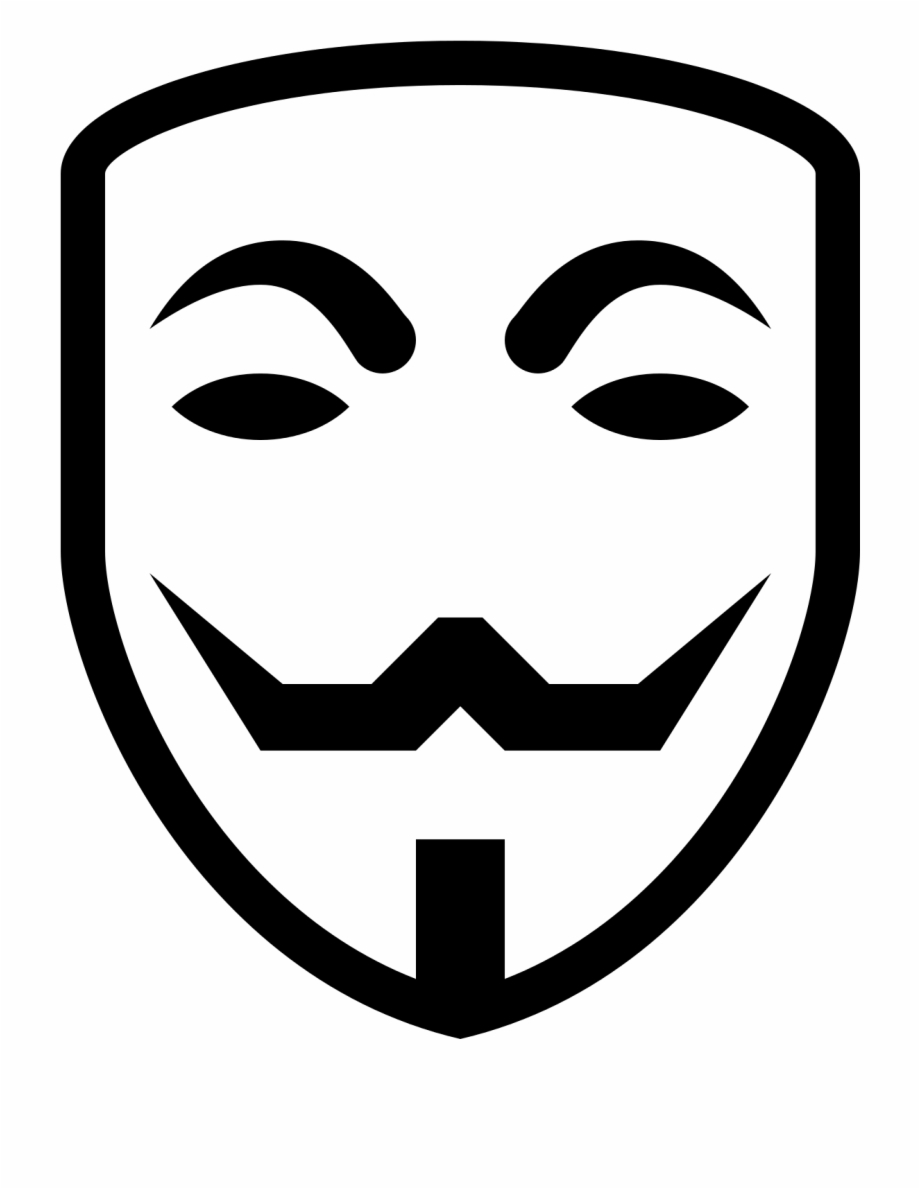 Anonymous Mask Wallpaper Png Transparent Background Anonymous