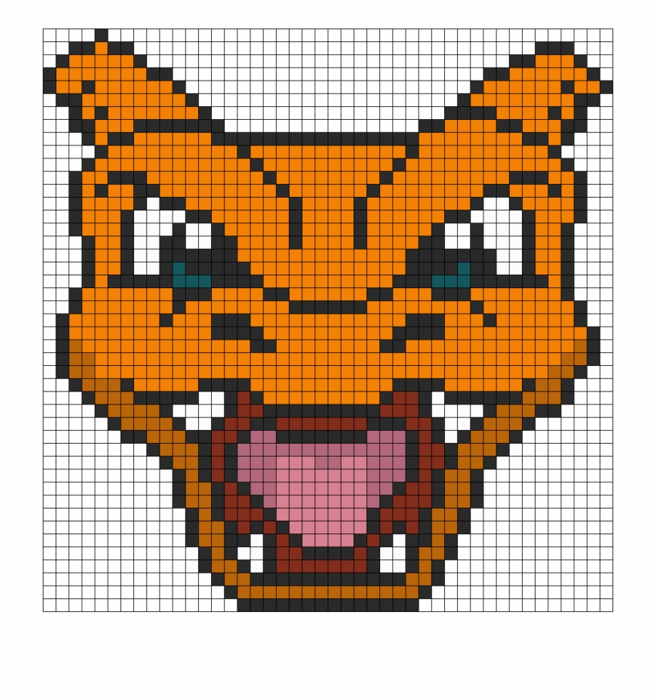 Pokemon Battle Trozei Charizard Perler Bead Pattern Pixel