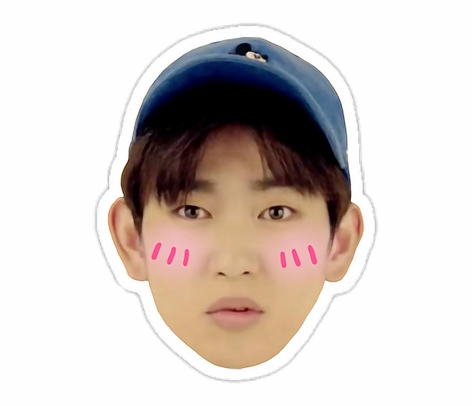 Kpop Got7 Got7jinyoung Cute Jinyoung Got7 Jinyoung Meme Stickers