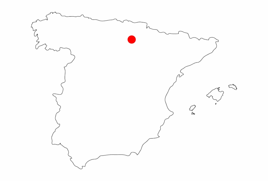 Map Of Spain Blank.Our Location Blank Map Of Spain With Cities