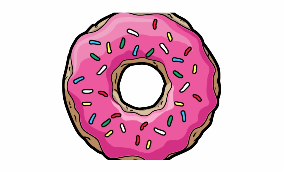 Clipart Wallpaper Blink Transparent Background Donut