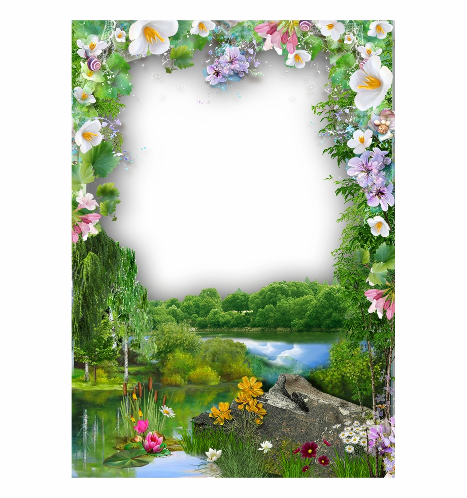 marcos de fotos borders and frames page borders borders nature photo frame design transparent png download 3854242 vippng marcos de fotos borders and frames