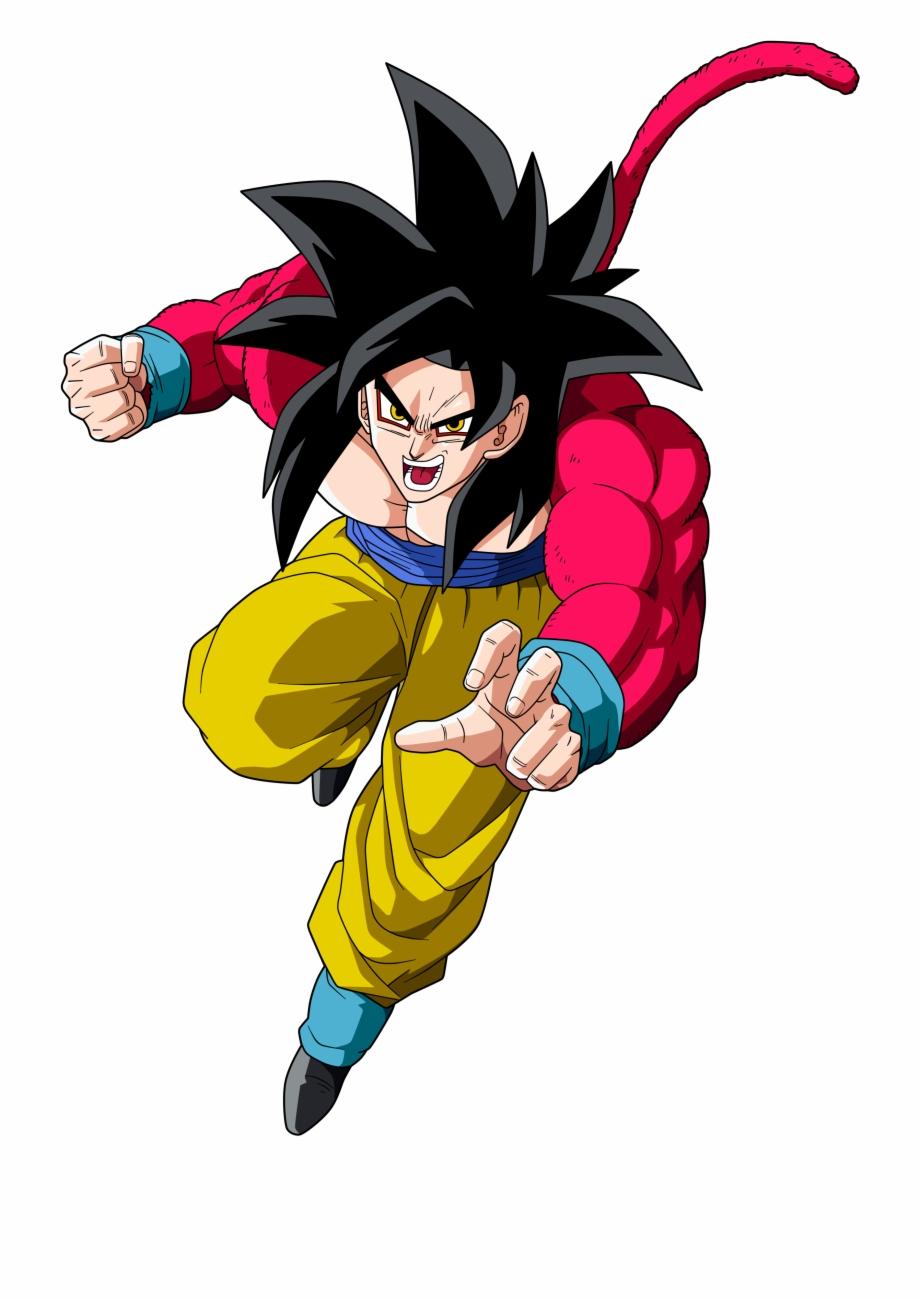 Goku Ssj 4 Png Dragon Ball Goku Ssj4 Transparent Png Download
