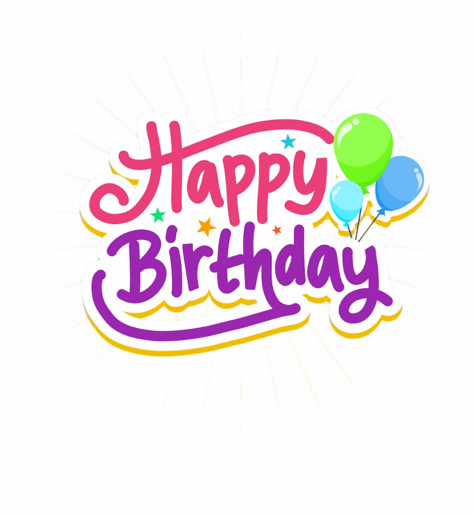 Happy Birthday Text Png Birthday Text Png Pngs Png Graphic Design Transparent Png Download 393691 Vippng
