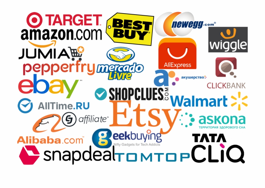 Ecommerce Stores We Ve Proudly Integrated With Amazon Aliexpress Ebay Best Buy Walmart Target Transparent Png Download 3947804 Vippng