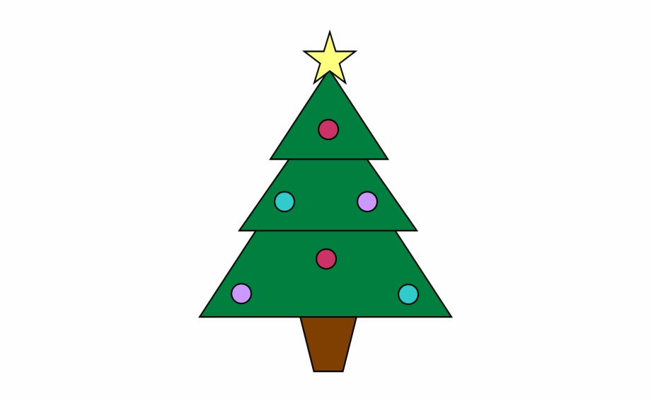 Christmas Tree Clip Art - Christmas
