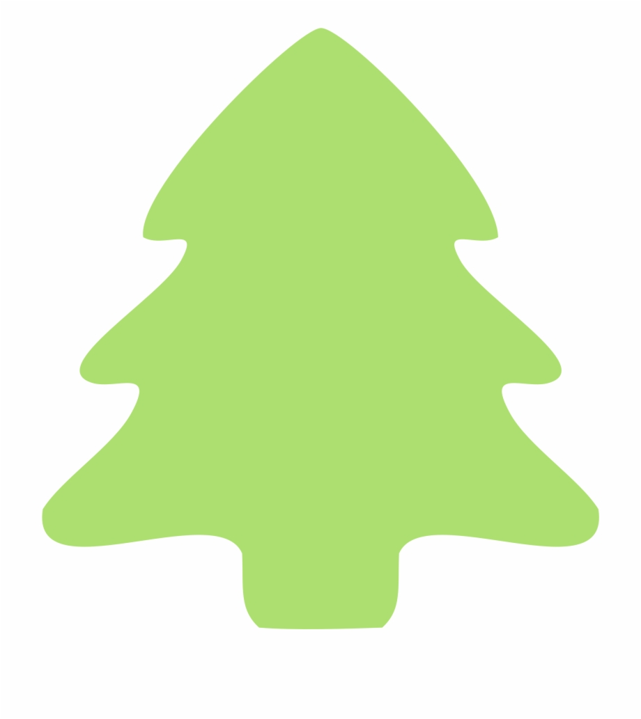 Christmas Tree Clip Art Free Free Clipart Images Plain Christmas Tree Cartoon Transparent Png Download 41287 Vippng