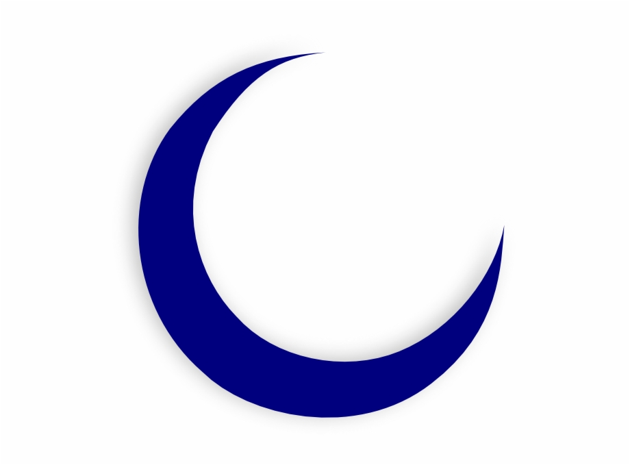 Crescent Moon Clip Art - Croissant De Lune Dessin ...