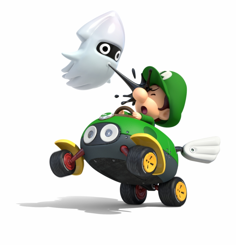 Baby Luigi In Mario Kart Mario Kart 8 Deluxe Baby Luigi