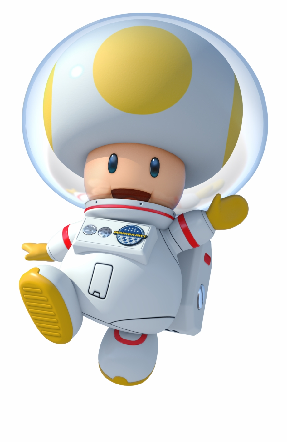 Toad Mario Kart Mario Kart 8 Deluxe Toad Transparent Png
