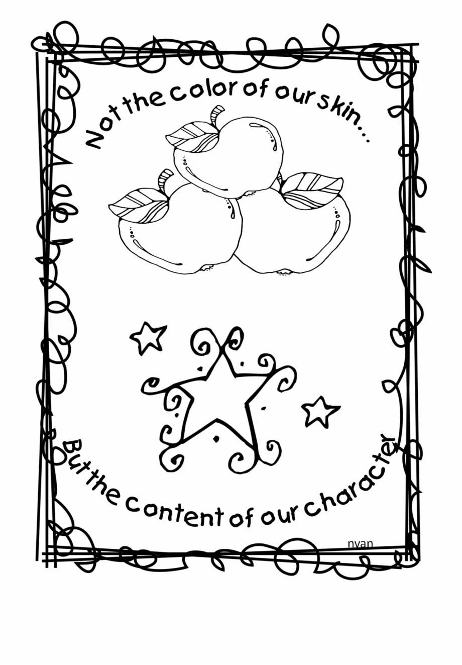 - Dr Martinther King Coloring Sheet Pages For Kindergarten - Martin