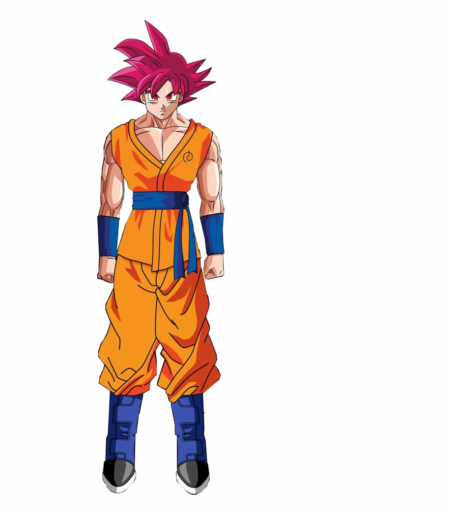 Fukkatsu No Super Drawing Goku Full Body Transparent Png